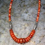 400 year old Carnelian beads are a treasure from the ancient past.